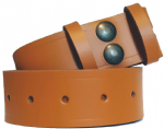 38mm London Tan Snap Fit Leather Belt